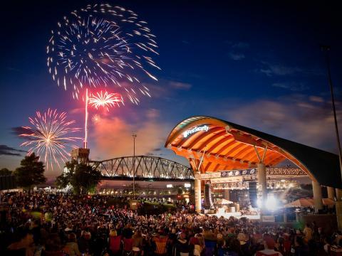 Riverfest, un événement très populaire