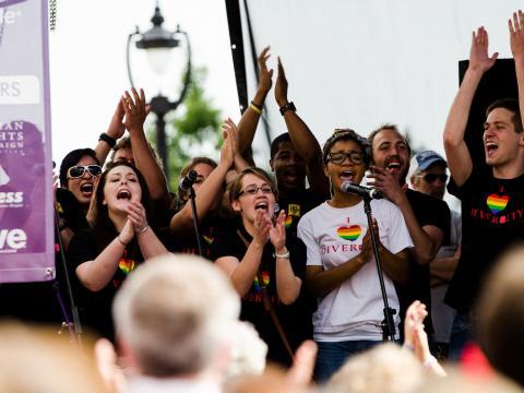 Gelebte Vielfalt bei Out! Raleigh Pride in North Carolina